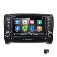 "For Audi TT MK2 7"" GPS Navigation Double DIN DVD Stereo Radio FM AM USB SD"