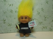 "SAN DIEGO CHARGERS SPORTS TROLL - 3"" Russ Troll Doll - NEW STORE STOCK"