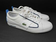 Men's Lacoste Observe 2 MS SPM (721SPM1411) White Tennis Shoes Lace Up Sz 11 US