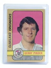 1972-73 Gerry Pinder #341 Cleveland Crusaders OPC O-Pee-Chee Hockey Card I578