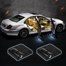 2X Wireless LED Car Door Batman Shadow Projector Light Laser Logo Welcome Lamp