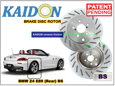 "BMW Z4 E89 disc rotor KAIDON (Rear) type ""RS"" / ""BS"" spec"
