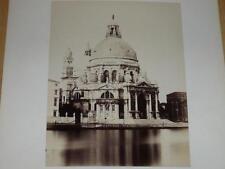 NAYA / VENISE VENEZIA 1870 Chiesa della Salute VINTAGE Albumen Print Photo Foto