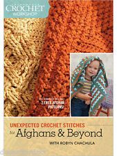 NEW! Unexpected Crochet Stitches For Afghans & Beyond With Robyn Chachula [DVD]