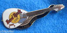 LAKE TAHOE WHITE MARK III TEARDROP VOX BRIAN JONES GUITAR Hard Rock Cafe PIN