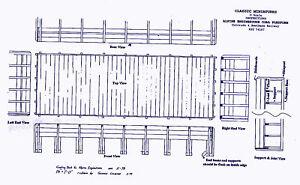 ALPINE TUNNEL COALING PLATFORM HO HOn3 Railroad Craftsman Unptd Wood Kit CM34107