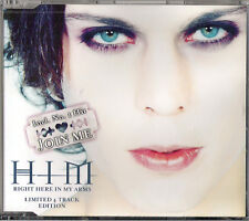 HIM - Right Here In My Arms [Limited 4 Track Edition] [2000] CDS EP single