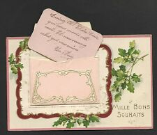 CPA Bonne Year Envelope Declaration D'Amour Brush Cutter... Twentieth