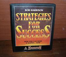 Strategies for Success - Bob Harrison - 8 Audio cassette set
