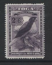 """TONGA - 1897 """"PARROT"""" 2/6d WATERMARK UPRIGHT MINT SG.52      (REF.A5)"""