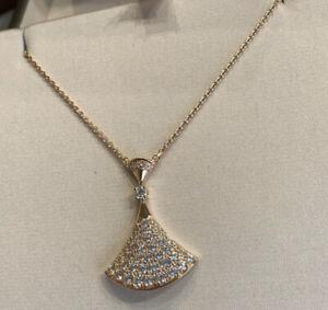 bvlgari DIVAS' DREAM NECKLACE rosegold sterling silver