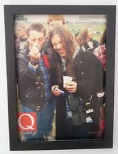 BRUCE DICKINSON*IRON MAIDEN*Donington*1994*FRAMED*A4*Magazine*Photo*FAST SHIP