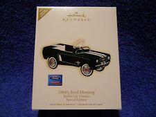 Hallmark 2007 19641/2 Ford Mustang Kiddie Car Classics Limited Quantity Spec New