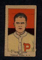 1923 W515-2 #6 Babe Adams Pirates EX A5006