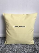 "NEW 18"" PLAIN LEMON CUSHION COVER PILLOW BED SOFA MORE COLOURS SIZES AVAILABLE"