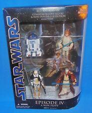 Star Wars BLU-RAY COMMEMORATIVE RELEASE *MIB* R2-D2 Luke Obi Wan Sandtrooper