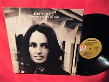 JOAN BAEZ Where are you now, my son? Part 2 LP 1973 USA EX+