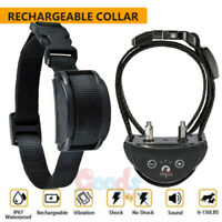 2021 New Rechargeable Waterproof Anti Bark No Barking Dog Training Shock Collar