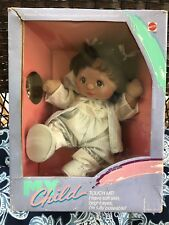 My Child Doll Hispanic Girl Brown Hair Brown Eyes W/ Red Rays MINT IN BOX!