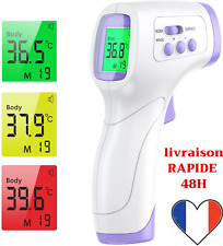 Thermomètre Frontal Sans contact Infrarouge Bebe Enfants Adultes Medical Rapide