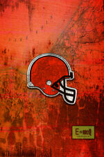 CLEVELAND BROWNS Tribute Poster, Browns Poster 16x20in Free Shipping US