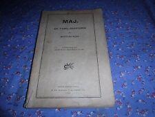 1909 Book in Swedish Maj En Familjehistoria af Mathilda Roos Family History of