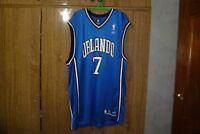 Rare Orlando Magic Reebok NBA Jersey #7 JJ Redick Basketball Hip Hop Rap Size XL