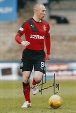 RANGERS HAND SIGNED KENNY MILLER 12X8 PHOTO PROOF 9.