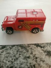 1996 Vintage Hot Wheels Paramedic Rescue 106