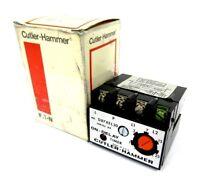 NEW CUTLER HAMMER D87XEL30 SOLID STATE TIMER MODULE