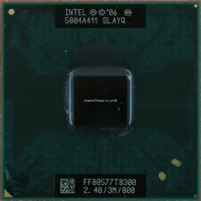 Cpu Processore Intel Core Duo 2 T8300 2.40/3M/800 SLAYQ per notebook dual 800MHZ