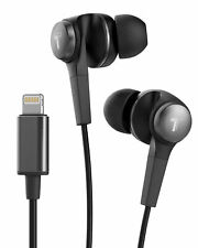 iPhone Earbuds with Microphone MFi Apple Certified Headphones w Lightning Black