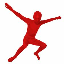 Kids Boys Halloween Costume Red Skin Suit Body Suit Medium M 6 7 8