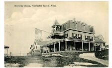 Nantasket Beach Mass Ma - Waverley House - Postcard