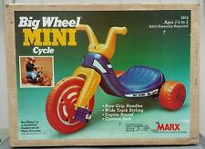 Marx Big Wheel Mini Cycle 5014 Nib 1979 Toy Sold At Marshall Field's In Chicago