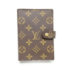 Louis Vuitton LV Diary Cover R20005 Agenda PM Browns Monogram 2407910