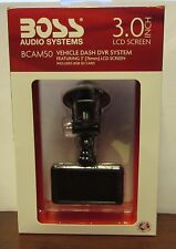 "Boss Audio BCAM50 Car DVR Dash Cam System 3"" LCD Screen w/8GB SD"