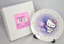 """NEW 2000 Hello Kitty VIRGO Zodiac 4"""" in Mini Decorative Plate with Stand Sanrio"""