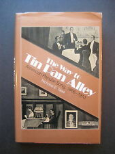 The Way to Tin Pan Alley: American Popular Song, 1866-1910 by Nicholas E. Tawa