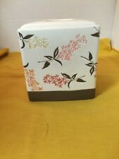 Tissue Box Cover, Wamsutta Spring, Ceramic