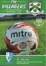 19/20 North Ferriby v Hallam (1st Home League Game )