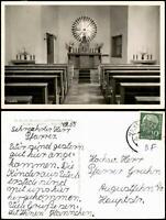 Ansichtskarte Vechta Kapelle Innenansicht 1955