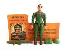 Gi Joe Brazil Bazuqueiro Dragon 100% w/FC 1984 Zap Estrela Comandos em Acao Rare