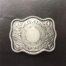 Vintage Western Cowboy Zinc Alloy Pattern Belt Buckle Belt Men's Accessories