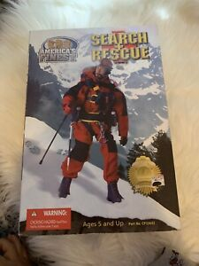 "AMERICA's FINEST  Search + Rescue, 12"" ACTION FIGURE, NIB & SEALED"