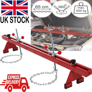 1102lbs Engine Support Beam 500kg Gearbox Bar Double Support Traverse Lifter UK