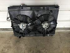 2007 Infiniti M35 Radiator Fan Condensor Radiator used