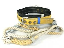 Dbi Sala Lineman's Utility Belt Harness Rope Lanyard Medium Large Ansi A10.14-75
