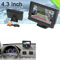 "4.3"" TFT LCD Car Rearview Color Monitor Screen For Reversing Camera DVD VCR Kit"
