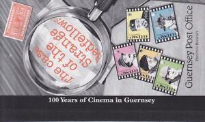 Guernsey 1996 - Centenary of Cinema - Prestige Booklet SB55